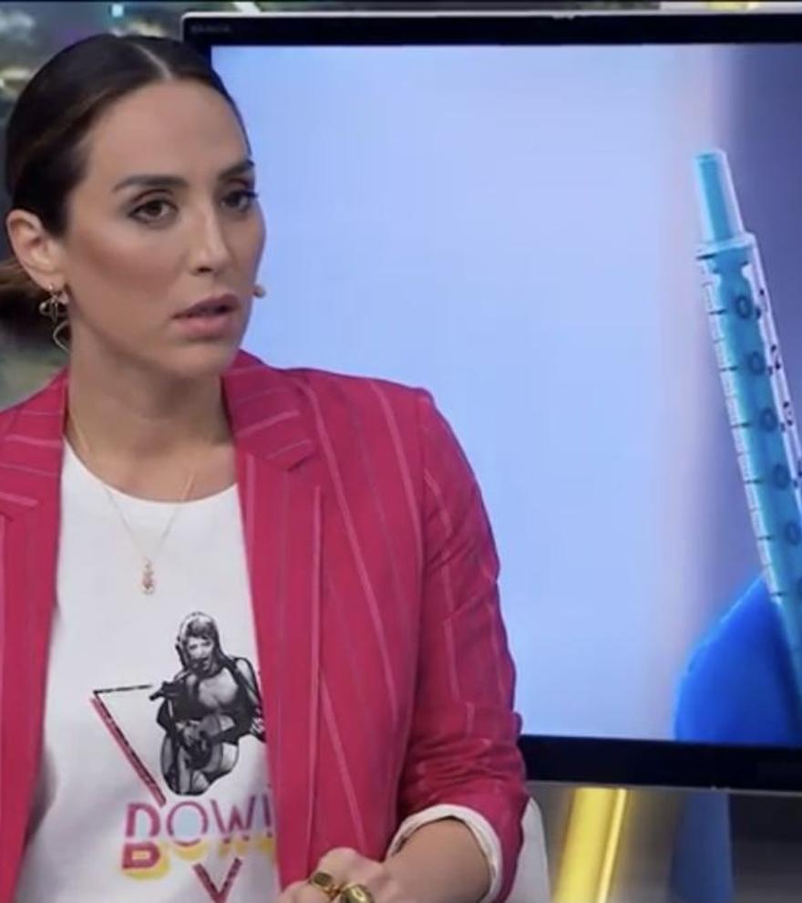 """Tamara Falcó siembra la polémica en 'El Hormiguero': """"No me quiero vacunar con AstraZeneca"""""""