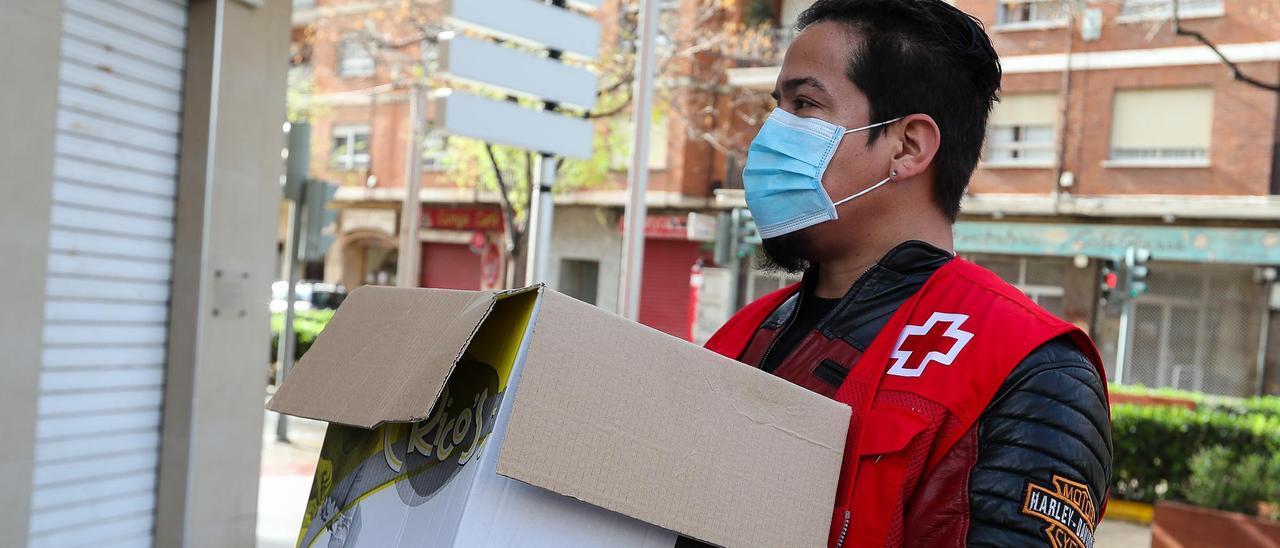 Labores de Cruz Roja