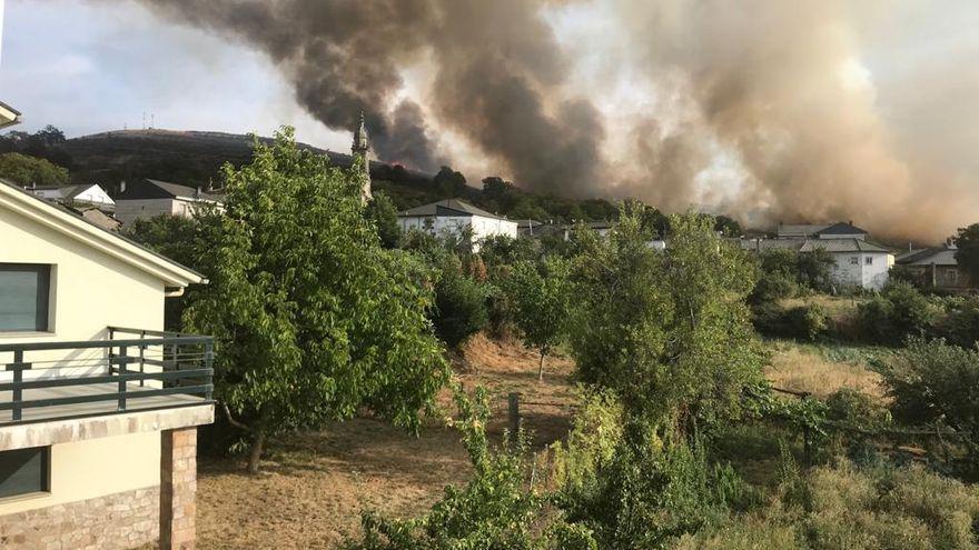 El incendio de Hermisende se reproduce