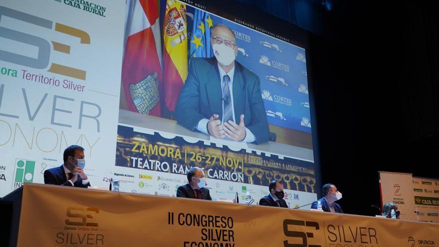 """Luis Fuentes afirma que Zamora """"empieza a consolidarse"""" como """"referencia europea"""" de la Silver Economy"""