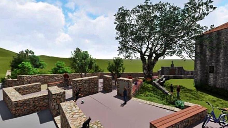 Vía libre a la expropiación de terrenos para la futura plaza de San Xurxo de Sacos