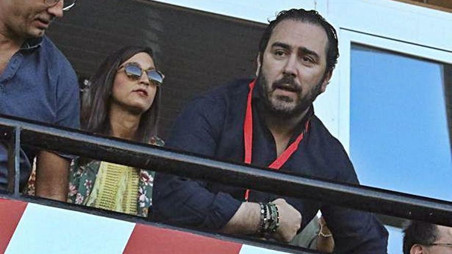 Víctor de Aldama, presidente ejecutivo del Zamora CF.