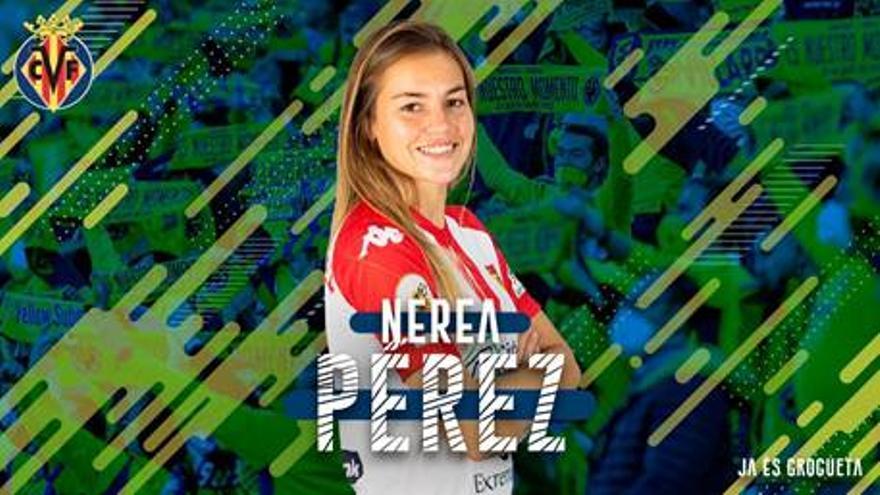 Primer fichaje del Villarreal Femenino tras su ascenso a Primera Iberdrola