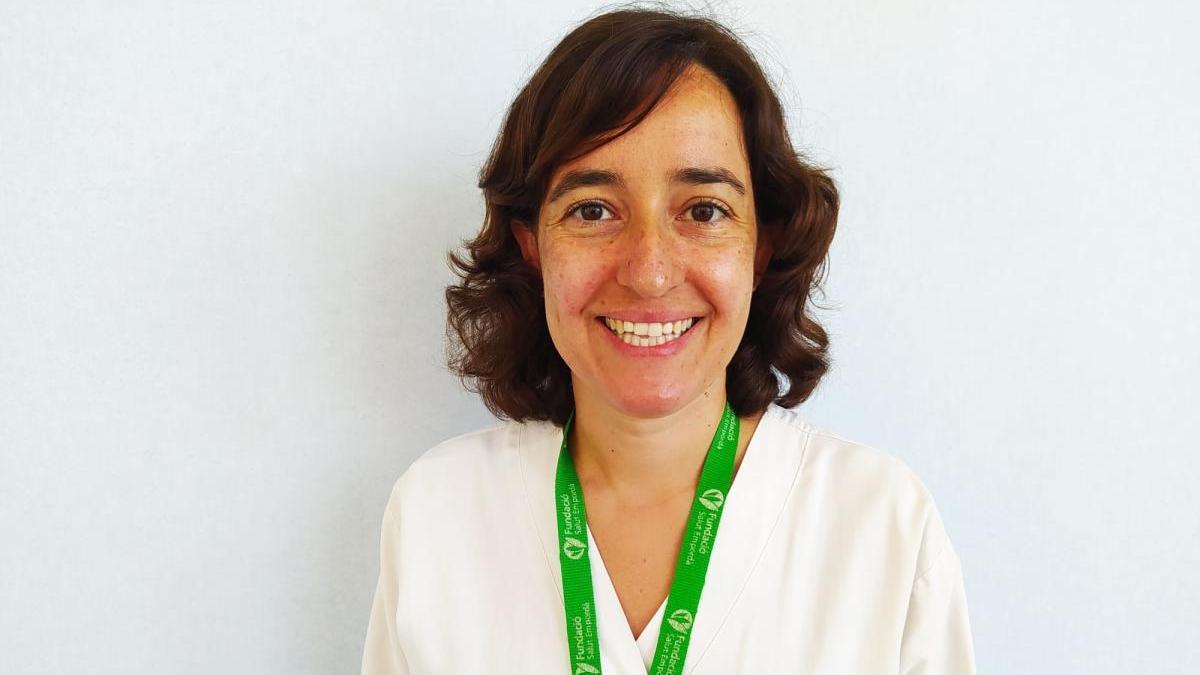 La llançanenca Pilar Girbal Portela té 39 anys i és infermera.