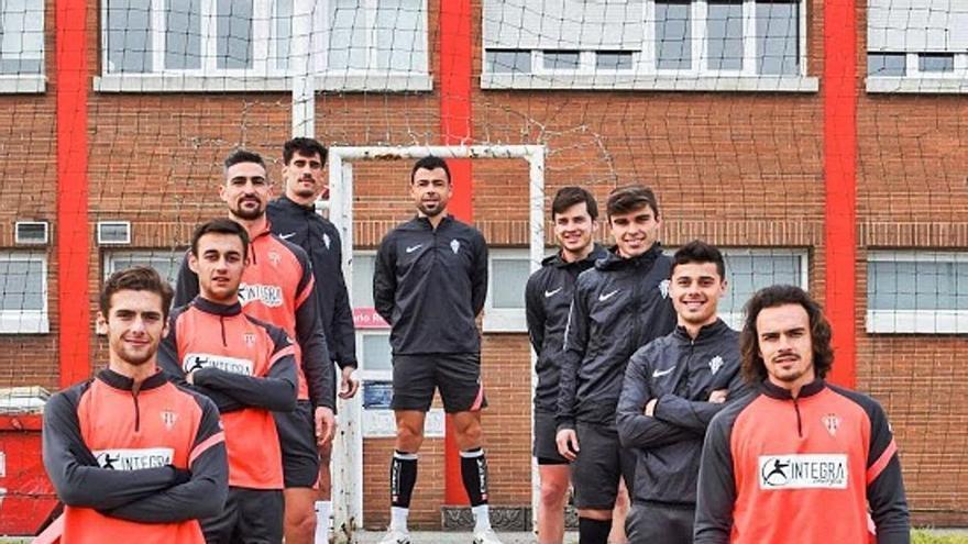 El Sporting más asturiano: los rojiblancos suman la cifra más alta de futbolistas nacidos en la región, once, desde la vuelta a Segunda