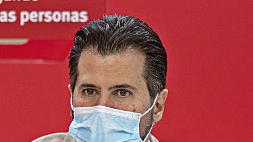 """Tudanca pide a la Junta """"no crispar"""" al hablar de Monte la Reina"""
