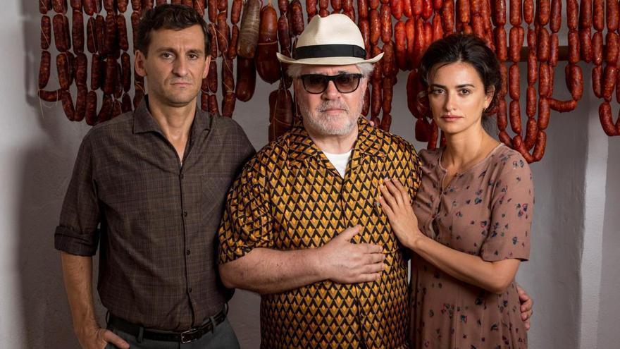 Almodóvar triunfa con 'Dolor y gloria' en los Premios Platino