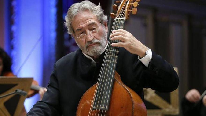El Festival Internacional de Música Antigua y Barroca acoge de nuevo a Jordi Savall