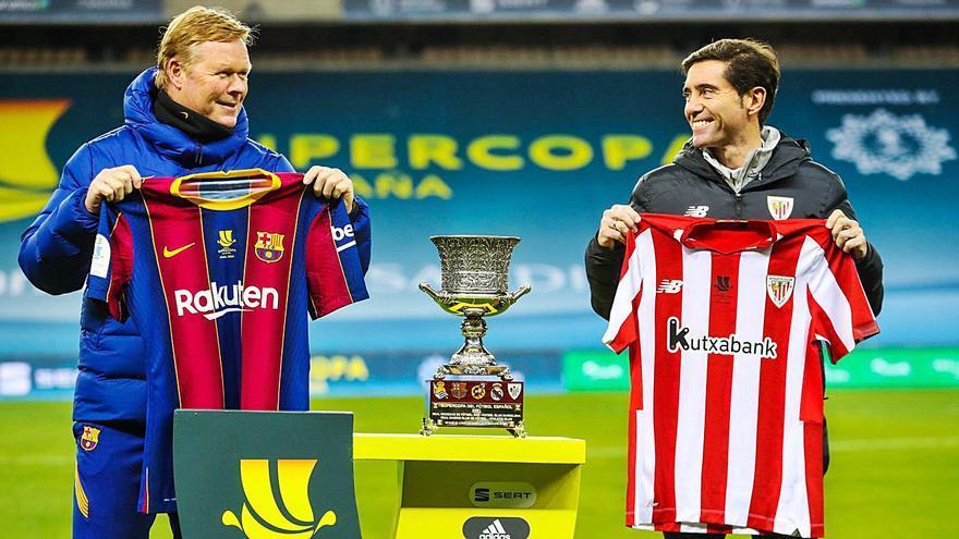 Athletic y Barça se juegan el primer título de año