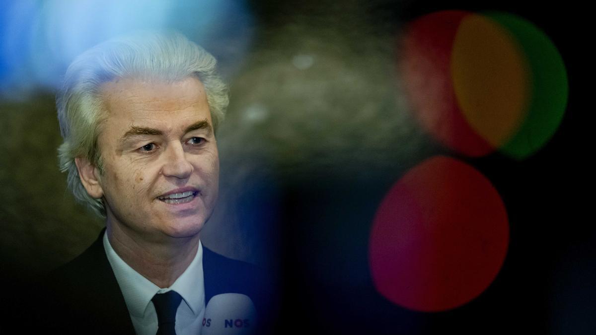 El líder del partido ultraderechista neerlandés, Geert Wilders.