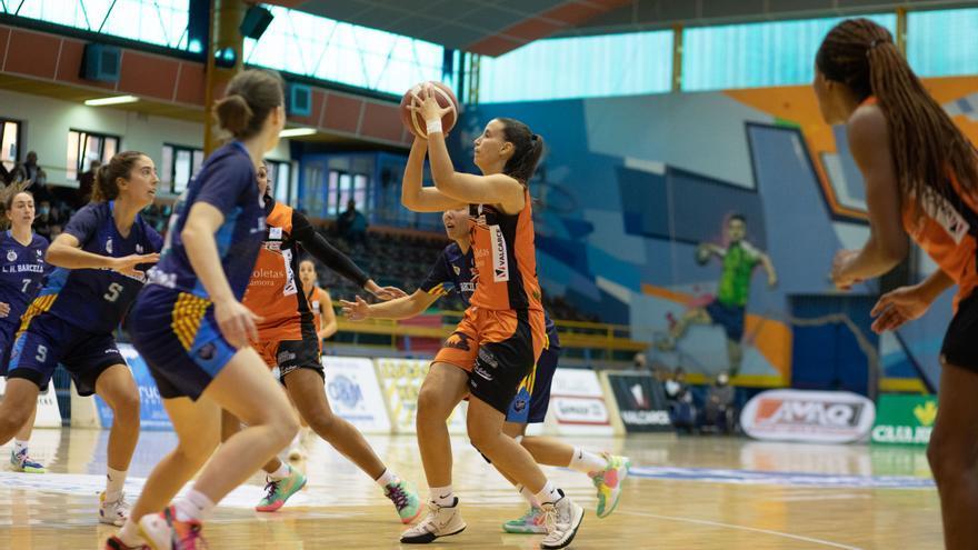 Marta Montoliu, del Recoletas Zamora, en el mejor quinteto de la cuarta jornada en Liga Challenge