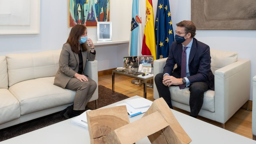 Xunta y Concello firmarán este mes el convenio para la ampliación del hospital