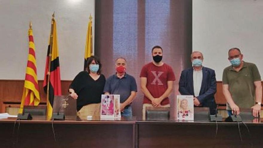 Presentació de la memòria del 2020 de Càritas a l'Ajuntament d'Artés