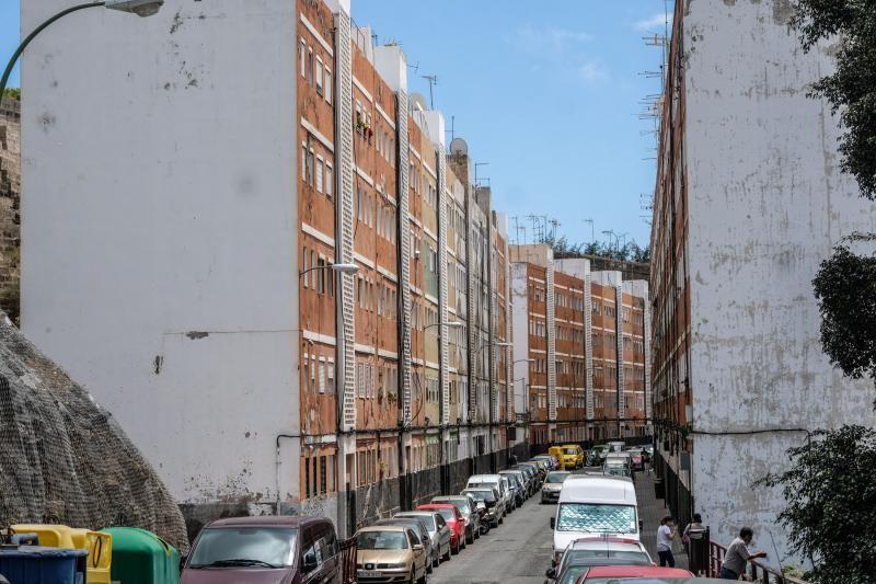 Barrio de San Francisco en Las Palmas de Gran Canaria