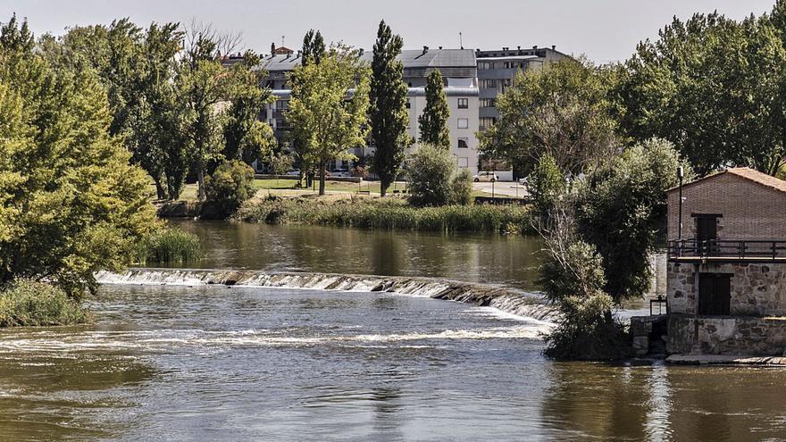 El Ayuntamiento arregla el azud de las aceñas de Cabañales por 50.000 euros