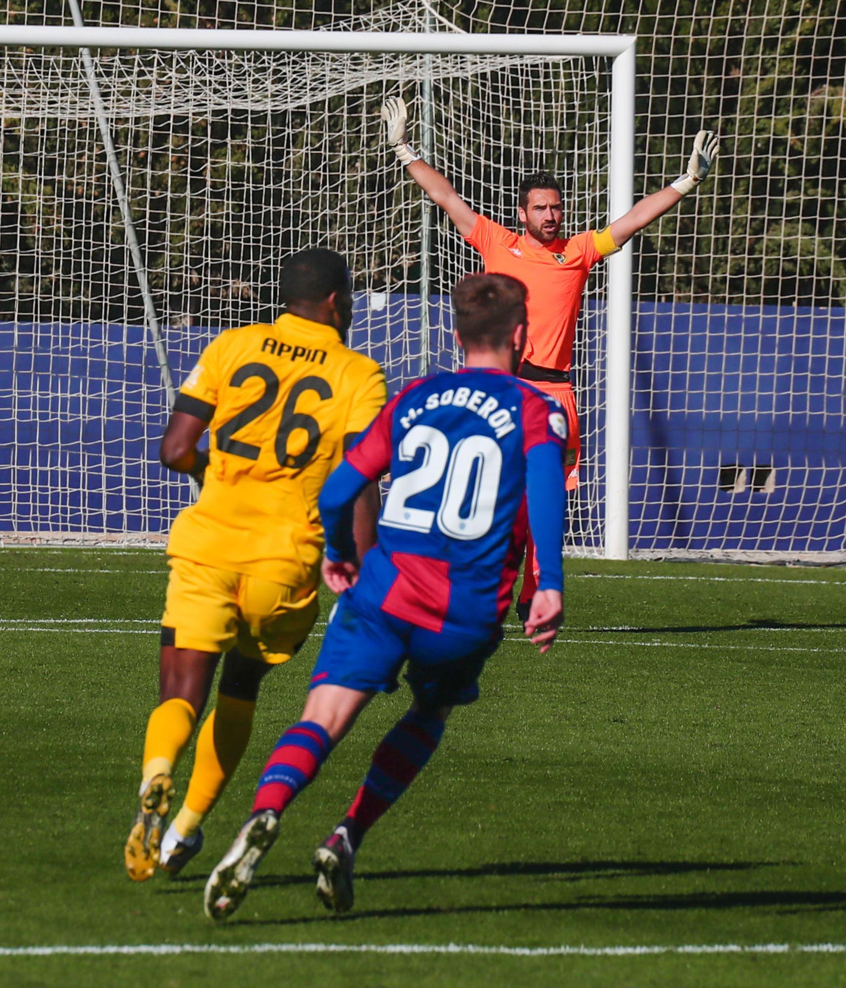 Atlético Levante - Hércules: las imágenes del partido