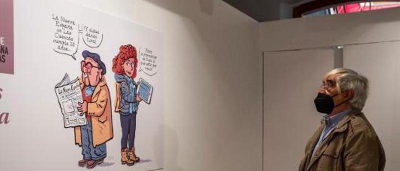 """""""Seguimos dando tira"""", una exposición que """"te recuerda lo que habías olvidado"""""""