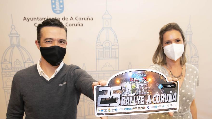 Elrallyde A Coruña celebra su 25 edición y recupera un tramo urbano