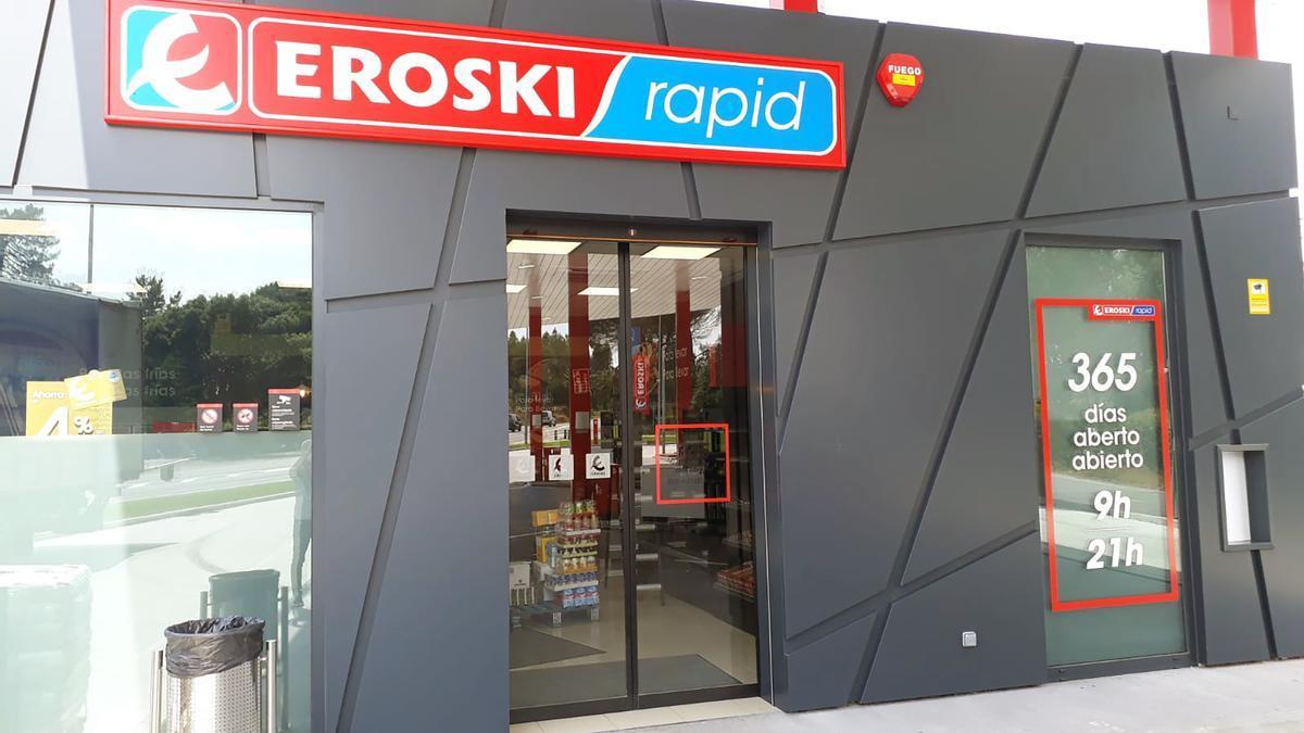 Tienda piloto de Eroski Rapid en Vilanova, entre las claves del próximo plan estratégico del grupo.
