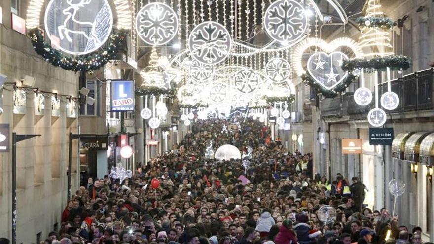 Iluminaciones Ximénez comienza este miércoles la instalación del alumbrado navideño en Vigo