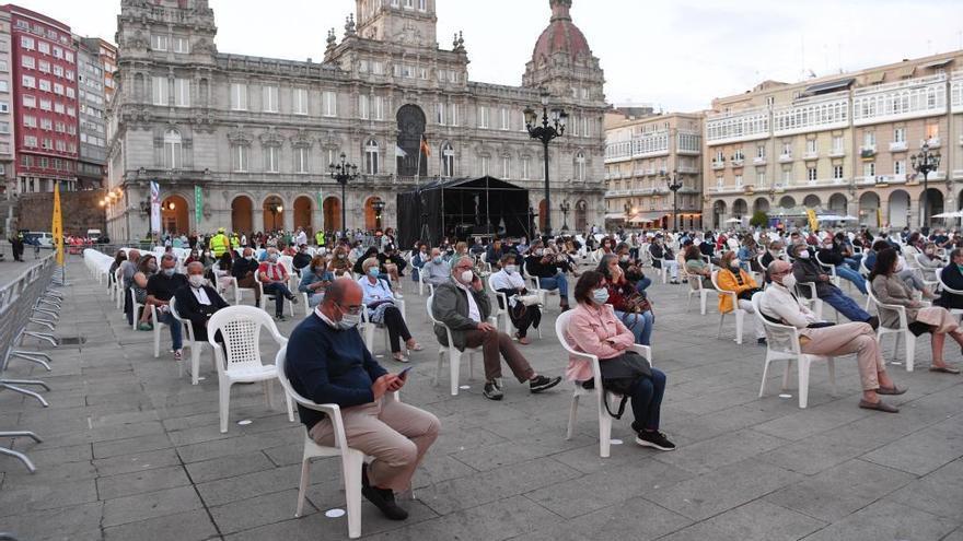 A Coruña suspende las fiestas de María Pita por el alza de contagios