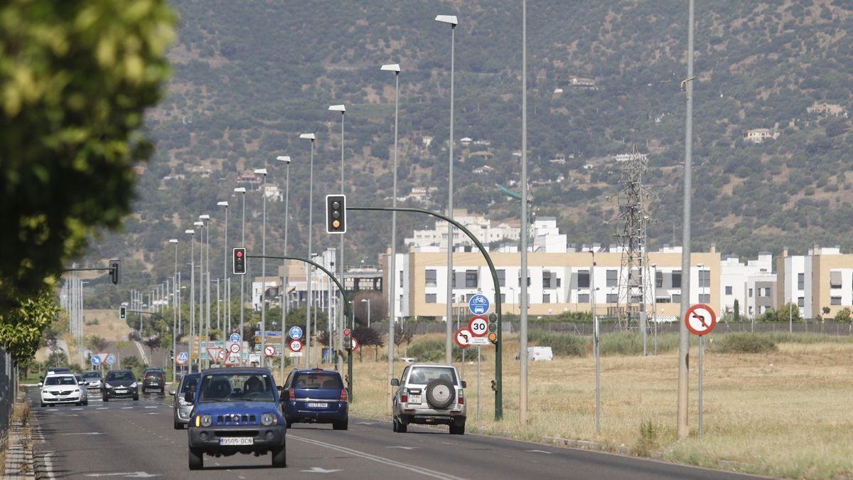 La avenida de la Arruzafilla es una de las zonas que se verá afectada por la ronda Norte.