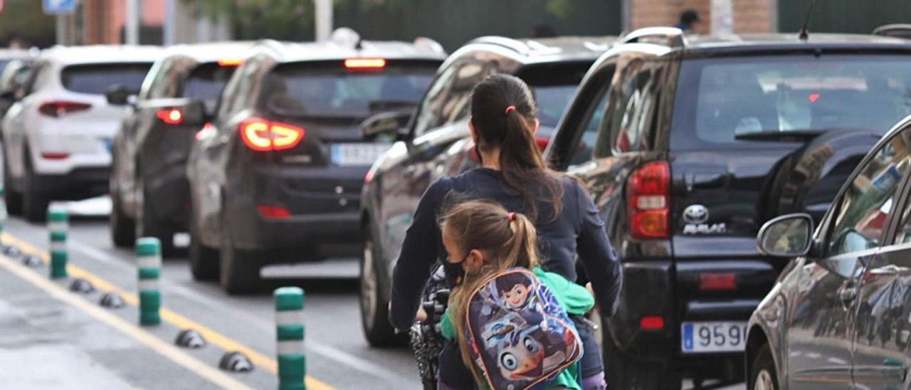 Los carriles bici crecen en Elche a costa de los de tráfico rodado con divergencia de opiniones.  | ANTONIO AMORÖS