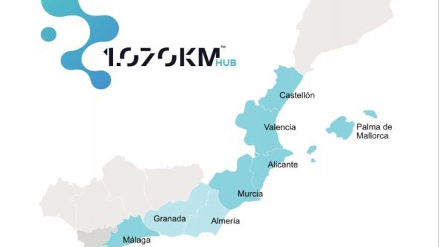 Granada se incorpora a 1.070 KM HUB