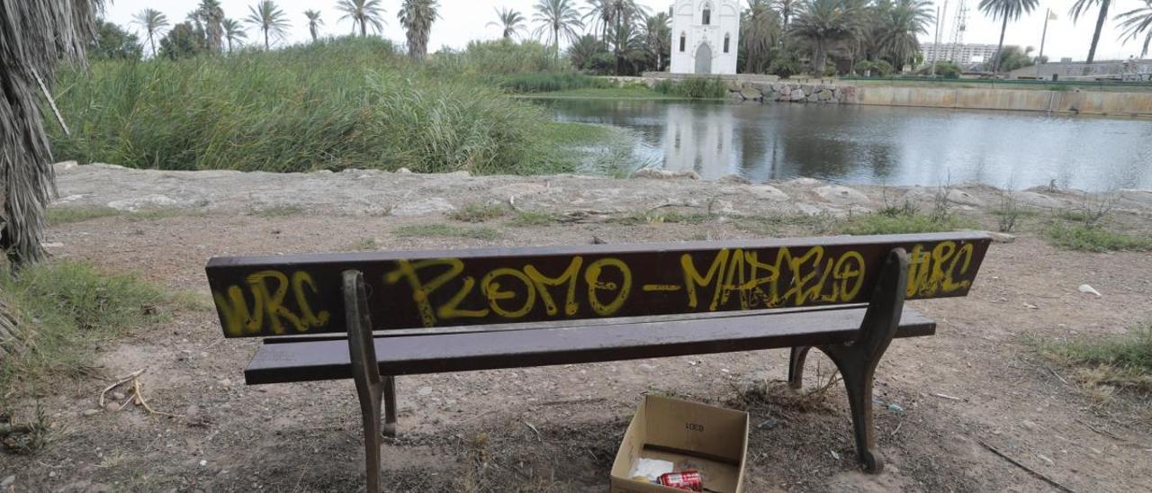 Alboraia pide a la CHJ poder recuperar los parques del final del Barranc del Carraixet