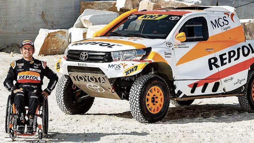 Isidre Esteve: «He complert el somni de poder fer el Dakar amb un gran cotxe»