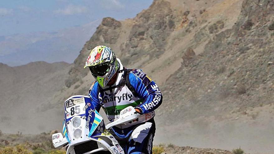 Pedro Peñate acude otra vez a la llamada del Rally Dakar