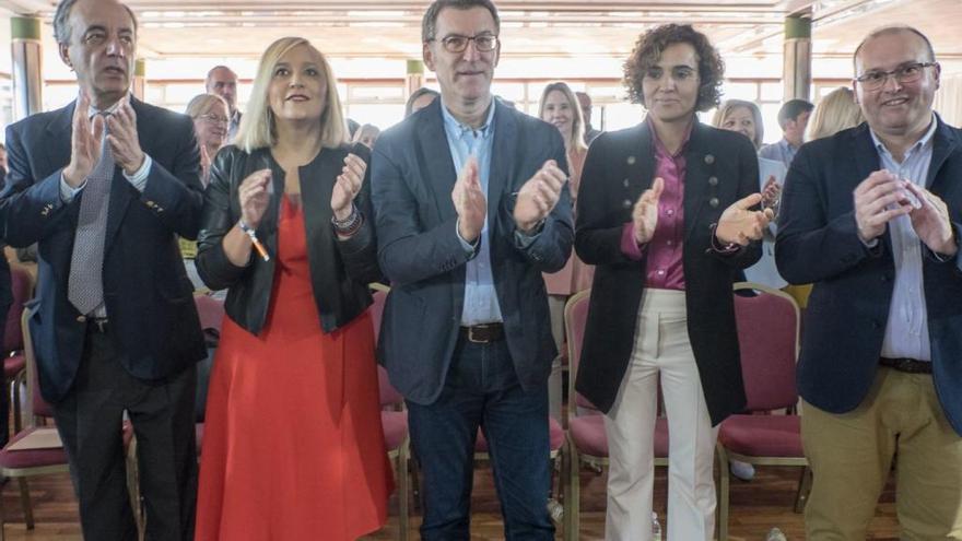 """Feijóo reivindica la """"utilidad"""" del PP en Vigo para que tenga """"futuro"""""""