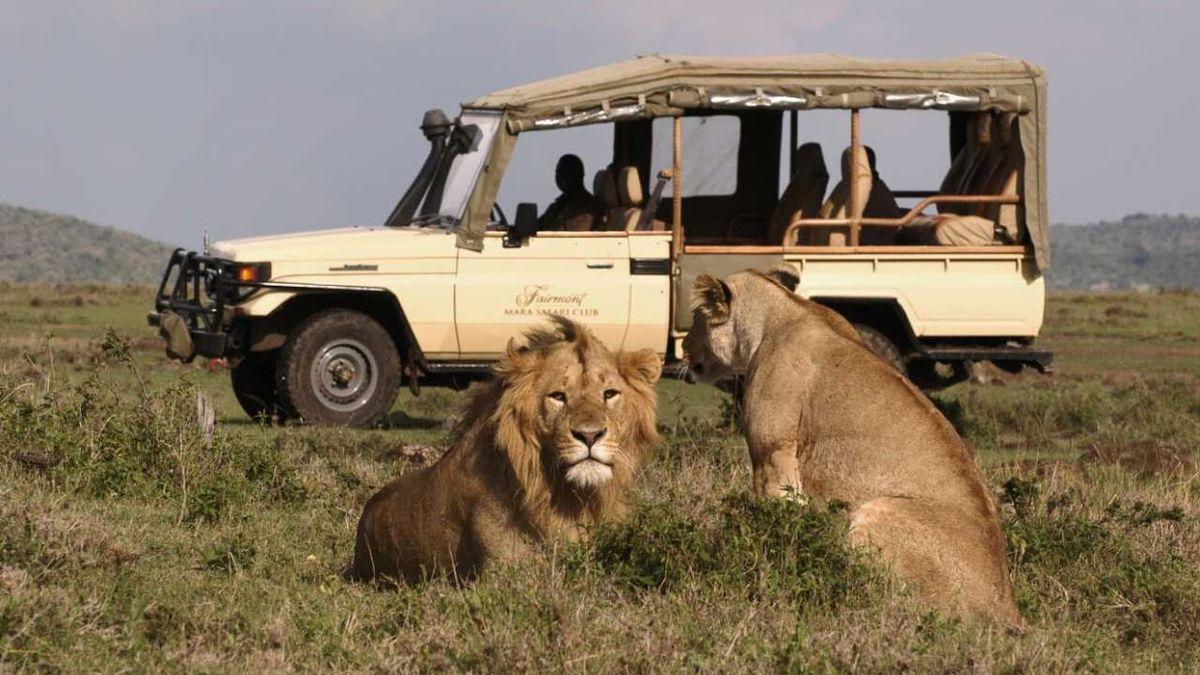 Their honeymoon in Kenya has served as proof of the wedding