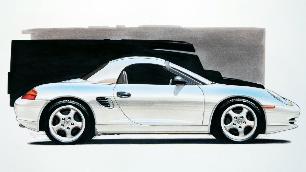 Porsche Boxster Concept: un diseño que marcó tendencia en los años noventa