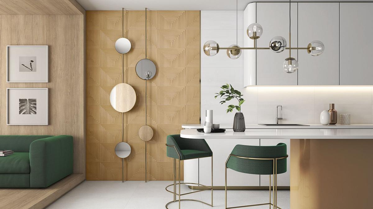 Keraben recoge en sus series las nuevas preferencias del consumidor, que se plasman en las viviendas en tres conceptos: 'Home Sanctuary', 'Rural & Contemporary' y 'Neo Déco'.