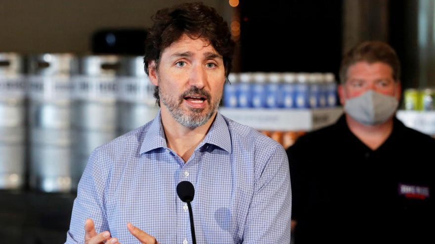 Trudeau no acudirá a Washington para reunirse con Trump y López Obrador