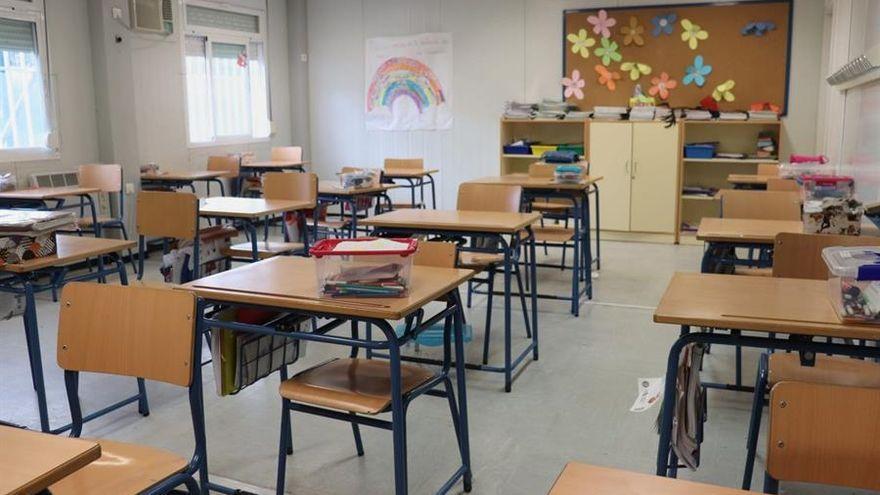 Las aulas en cuarentena suben a 40 en Extremadura