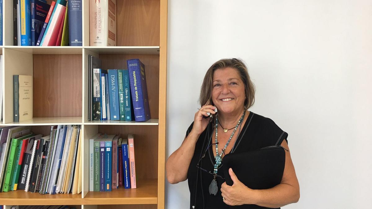 María José Lozano,   psicóloga y Gerente de   Salud Mental del Servicio  Murciano de Salud.