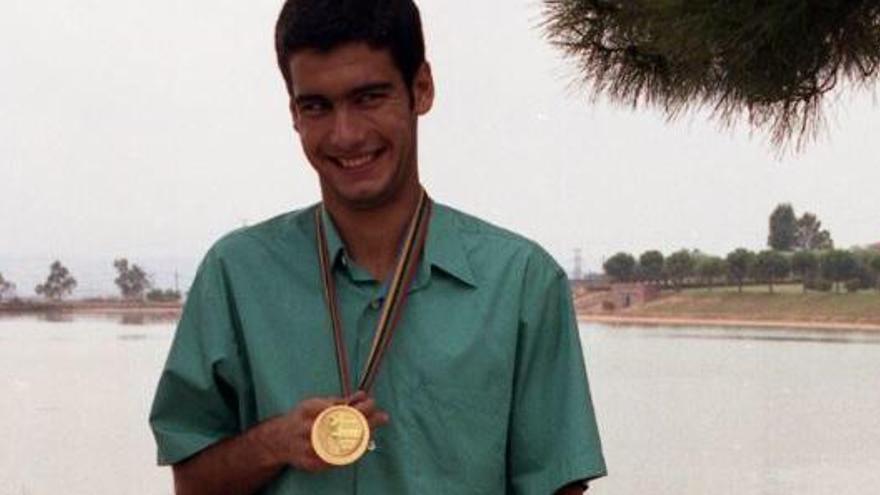 Què deia Guardiola amb la medalla dels Jocs del 92 a la mà?