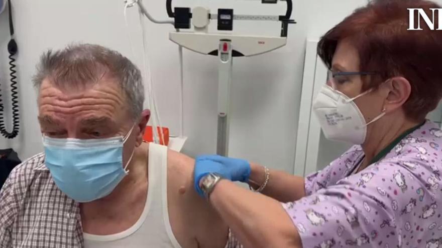 El centro de salud de Plaza América comienza a vacunar a los mayores de 80 años