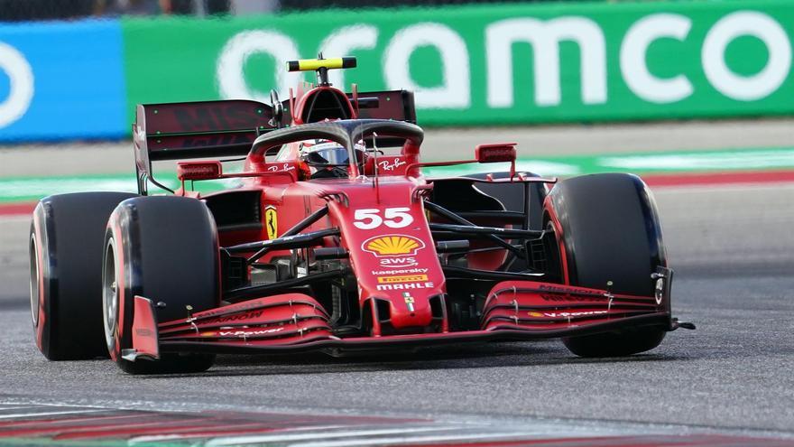 Alonso y Sainz saldrán 19º y 6º en el GP de Estados Unidos