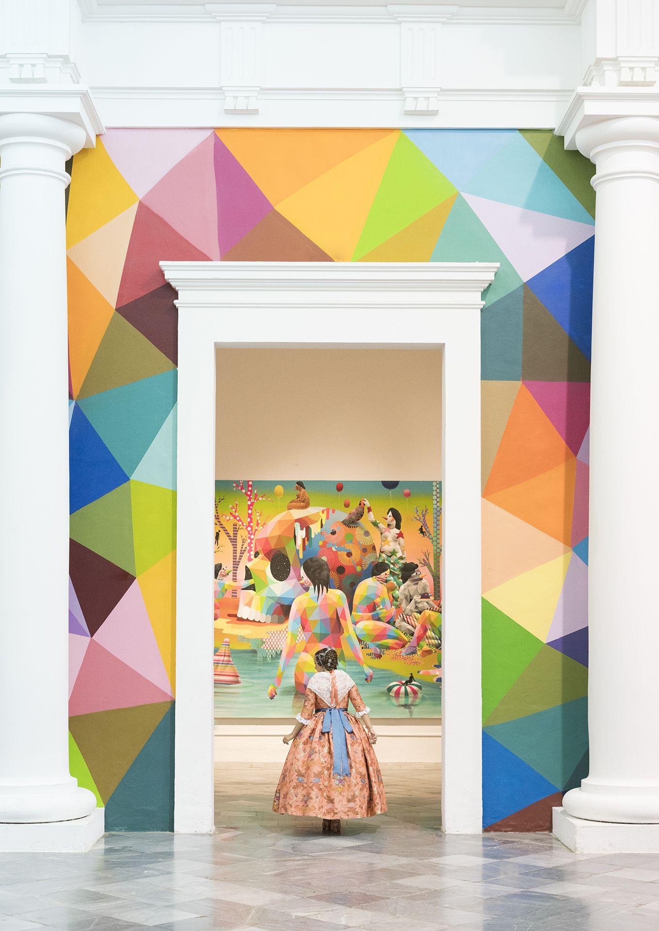 """1º Accesit Color. """"Llegas tú y llenas mi vida de color""""  Autor: Adrián Mora Maroto"""