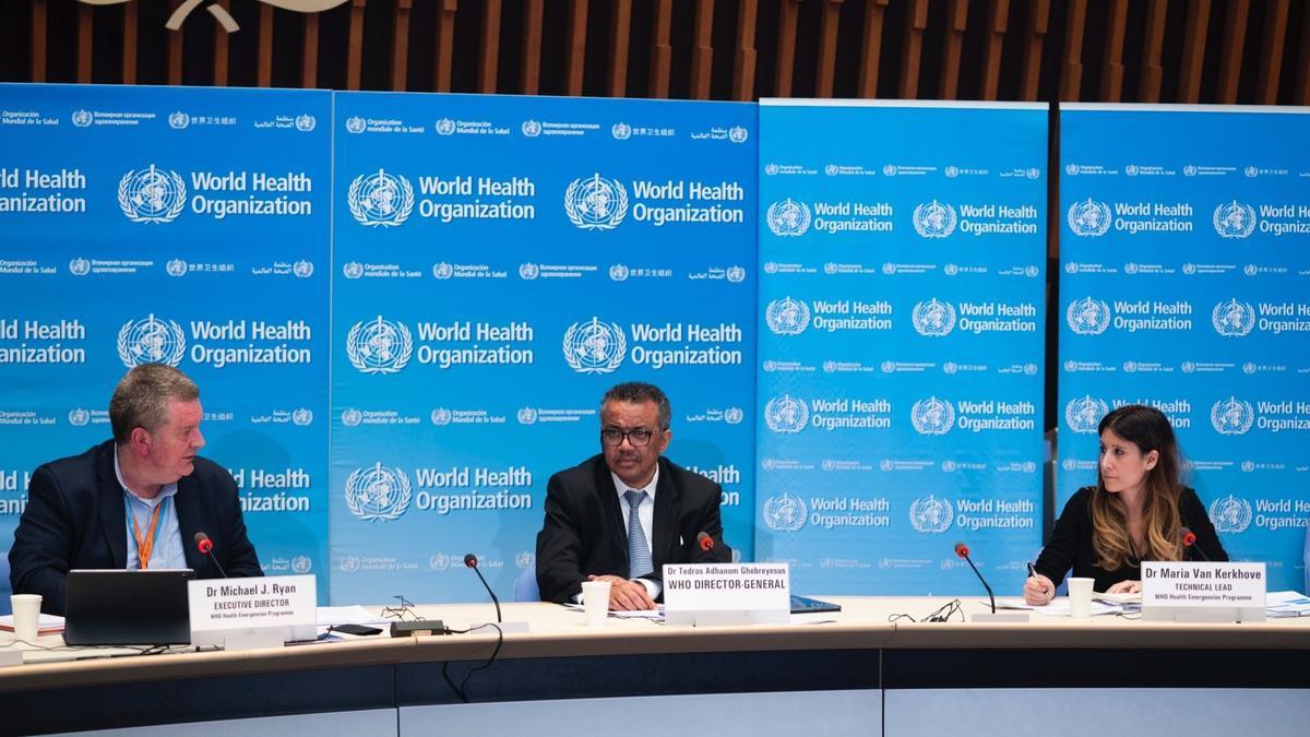 El director general de la Organización Mundial de la Salud, Tedros Adhanom Ghebreyesus.