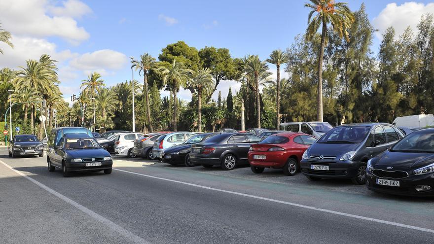 El Ayuntamiento de Elche anuncia la recuperación del huerto de Rastoll a costa de sus más de cien plazas de parking