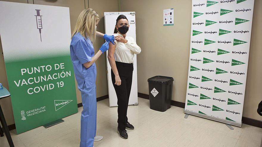 Las empresas se suman al plan de vacunación contra el covid