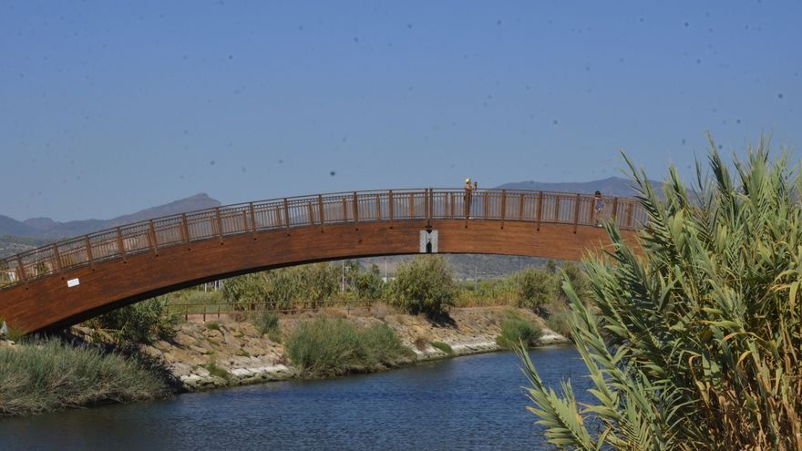 Moncofa suma un nuevo atractivo turístico con la pasarela