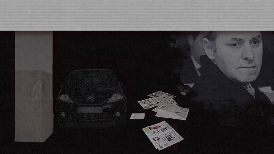 Asesinato a bocajarro en un garaje