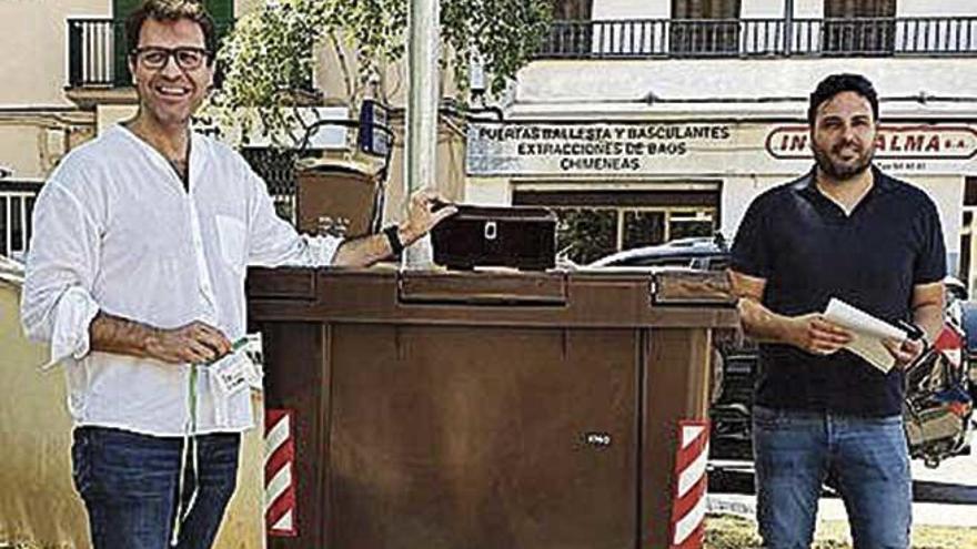 Manacor implanta el contenedor de materia orgánica en el barrio de Llevant