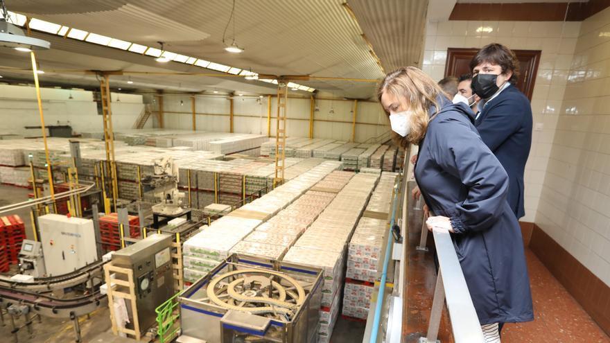 La avilesina Lactavisa moderniza su negocio para ampliar productos y exportar el 15%