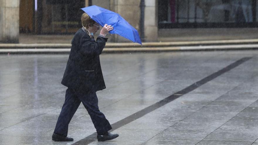 Tormentas y granizadas: así es la previsión meteorológica del martes en Asturias